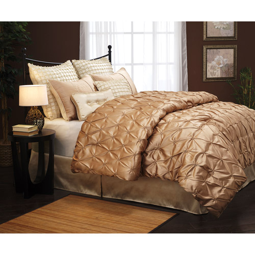 Uma Satin 8-Piece Bedding Comforter Set