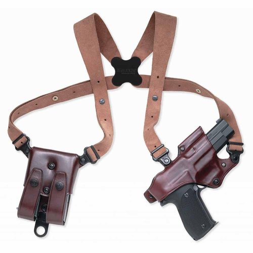 Galco Jackass Rig Shoulder System, Havana Brown, Right Hand by Galco