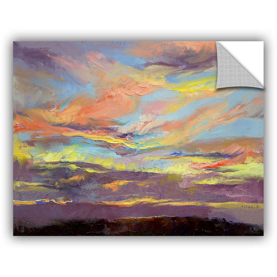 "ArtWall Michael Creese ""Atahualpa Sunset"" ArtAppealz Removable Wall Art"