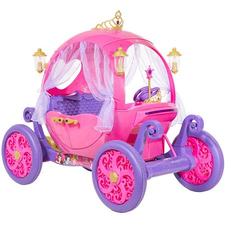 cinderella as a baby 24v disney princess carriage ride on walmartcom