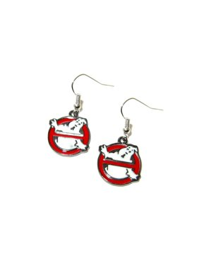 12fe6f74b Product Image Dangle Earrings Ghostbusters Logo In Gift Box by Superheroes