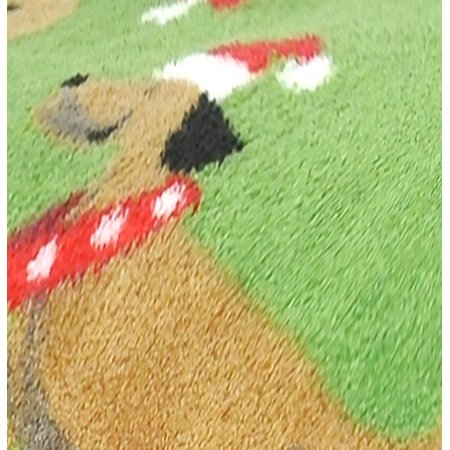 Best Mainstays Cozy Plush Fleece Throw Blanket, Holiday Dogs deal