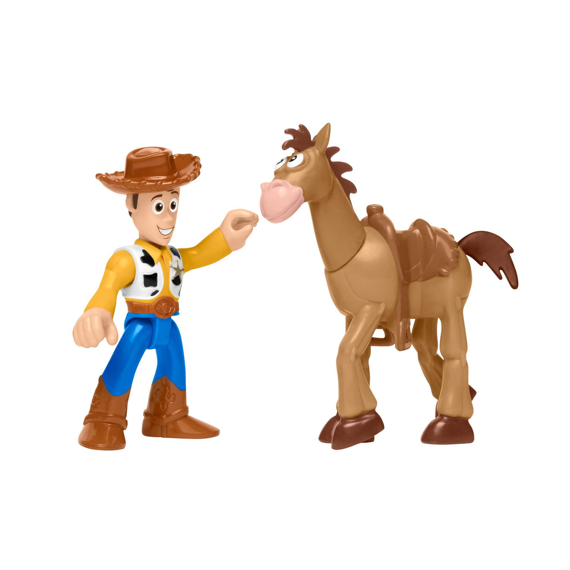 Imaginext Disney/Pixar Toy Story 4 Woddy & Bullseye