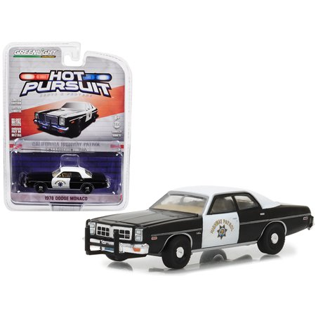 State Highway Patrol - 1978 Dodge Monaco California Highway Patrol Hot Pursuit Series 27 1/64 Diecast Model Car by Greenlight