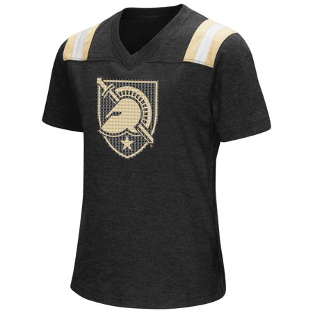 Youth Girls Colosseum Rugby Army Black Knights T-Shirt (Girl Armor)
