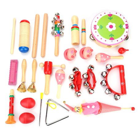 Yosoo 22pcs Musical Instruments Educational Toy Set With Carrying Bag For Kids Children Gift Musical Toys Set Musical Educational Toys Walmart