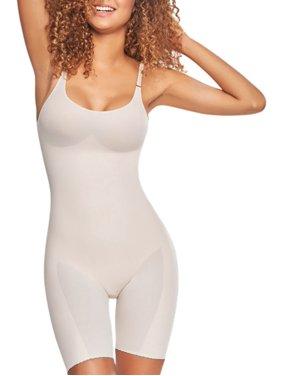 ba7171d49fa Product Image TrueShapers 1278 Mid-Thigh Invisible Bodysuit Shaper Short