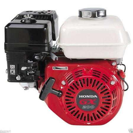 - Honda GX200UTQX2 196cc OHV 5.5 HP Engine w Straight Keyed Shaft 3/4