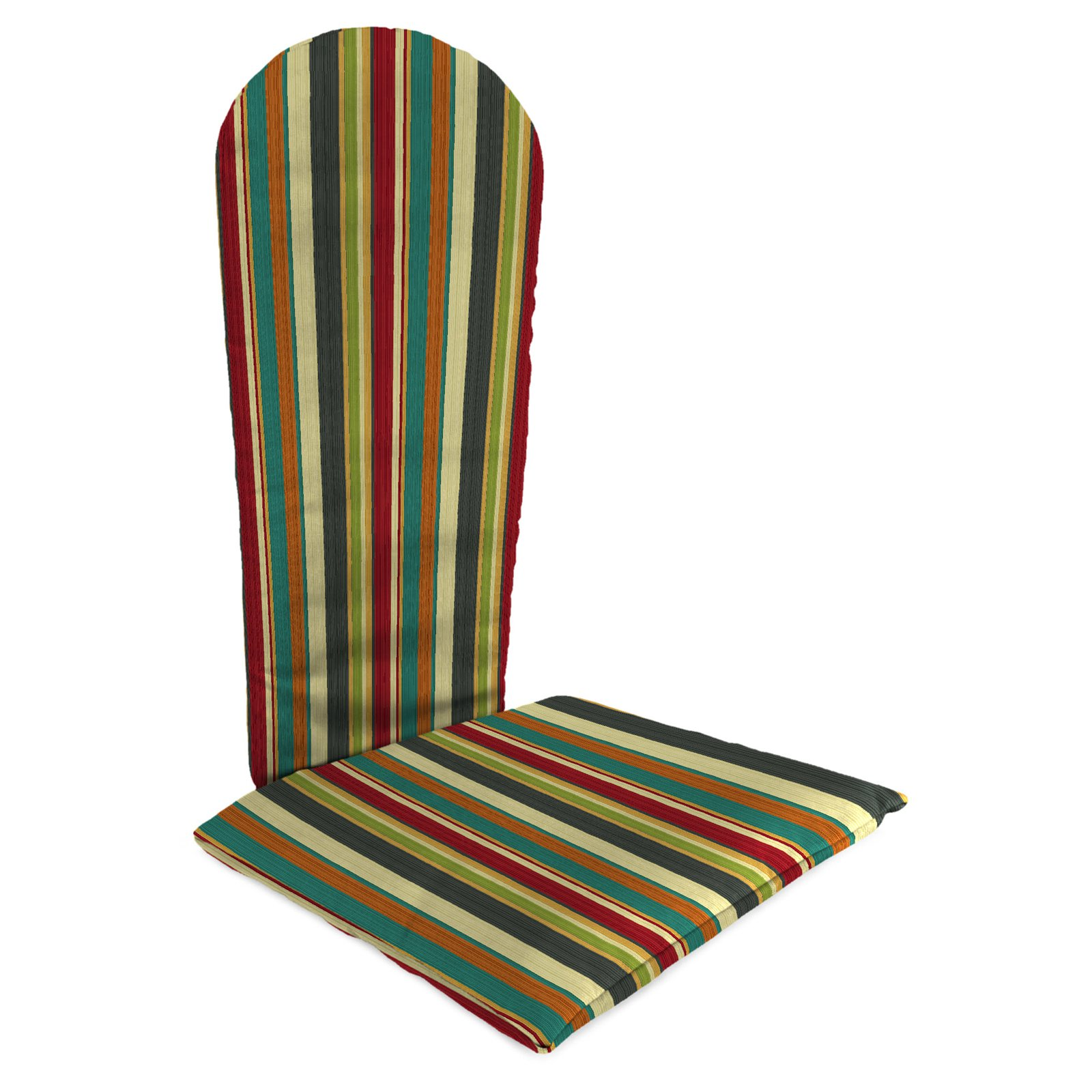 Jordan Manufacturing Knife Edge Outdoor Draw The Line Adirondack Chair Cushion