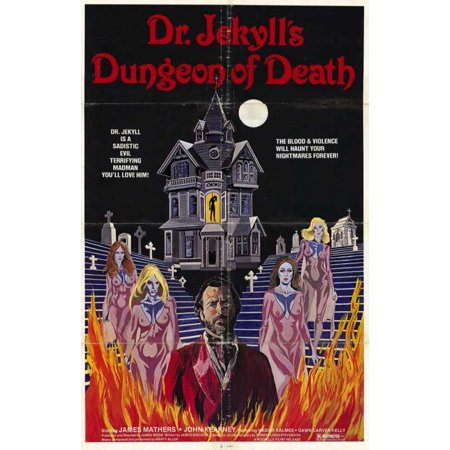 Dr. Jekyll's Dungeon of Death POSTER Movie Mini Promo for $<!---->
