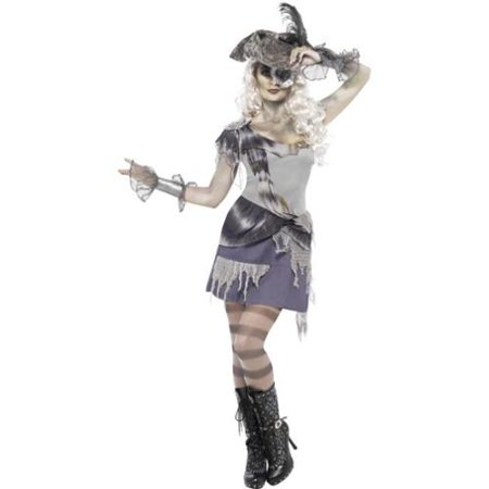 Madame Voyage Pirate Adult Costume Dress Small](Madame De Rosa Halloween)