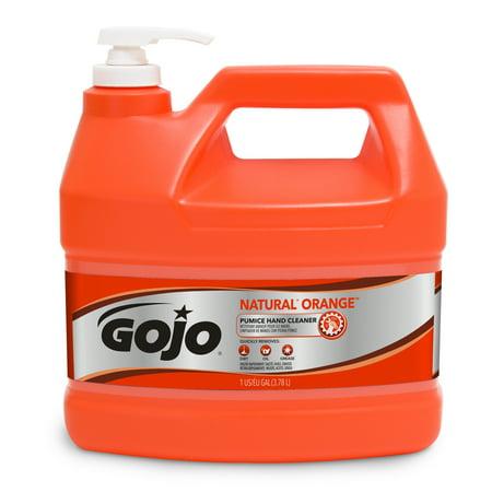 Gojo Natural Orange Pumice Heavy Duty Hand Cleaner
