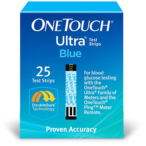 One Touch Ultra Test Strip 25's