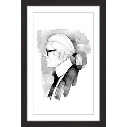 """Karl"" Framed Painting Print"