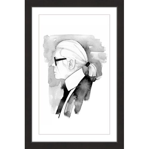 """Karl"" Framed Painting Print"