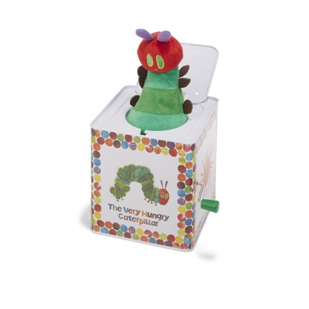 The World of Eric Carle The Very Hungry Caterpillar Jack-in-the-Box - Hungry Little Caterpillar