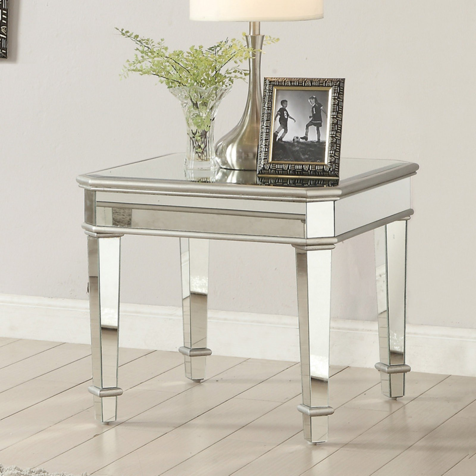 Coaster Furniture Mirrored End Table