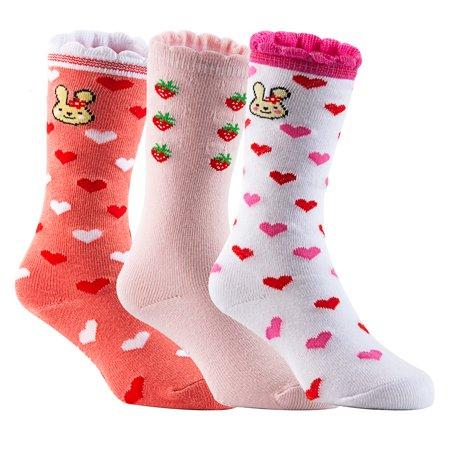 Lian LifeStyle Unisex Baby 3-Pairs-Pack Knee High Cotton Non-Skid Socks](Toddler Knee High Socks)