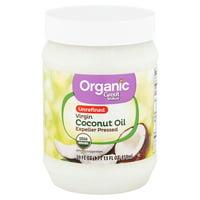 Great Value Organic Unrefined Virgin Coconut Oil, 29 fl oz