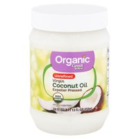 Great Value Organic Unrefined Virgin Coconut Oil, 24 fl oz