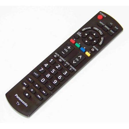 OEM Panasonic Remote Control Originally Shipped With: TCL32C12, TC-L32C12, TCP50X1, TC-P50X1, TCP42C1, TC-P42C1
