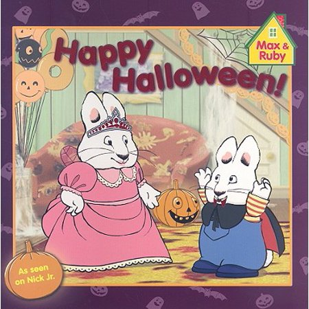 Happy Halloween! (Paperback) - Max And Ruby Halloween Episodes