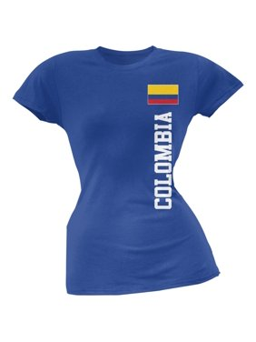 b31d4858e15 Product Image World Cup Colombia Royal Soft Juniors T-Shirt