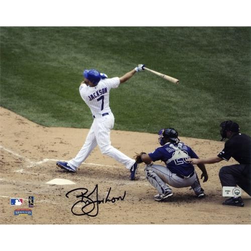 """Brett Jackson Chicago Cubs Fanatics Authentic Autographed 8"""" x 10"""" vs. Rockies Photograph - No Size"""