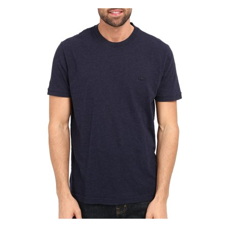 Lacoste Men Short Sleeve Vintage Washed Tee