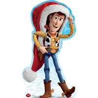 Advanced Graphics Woody Holiday - Disney Cardboard Standup