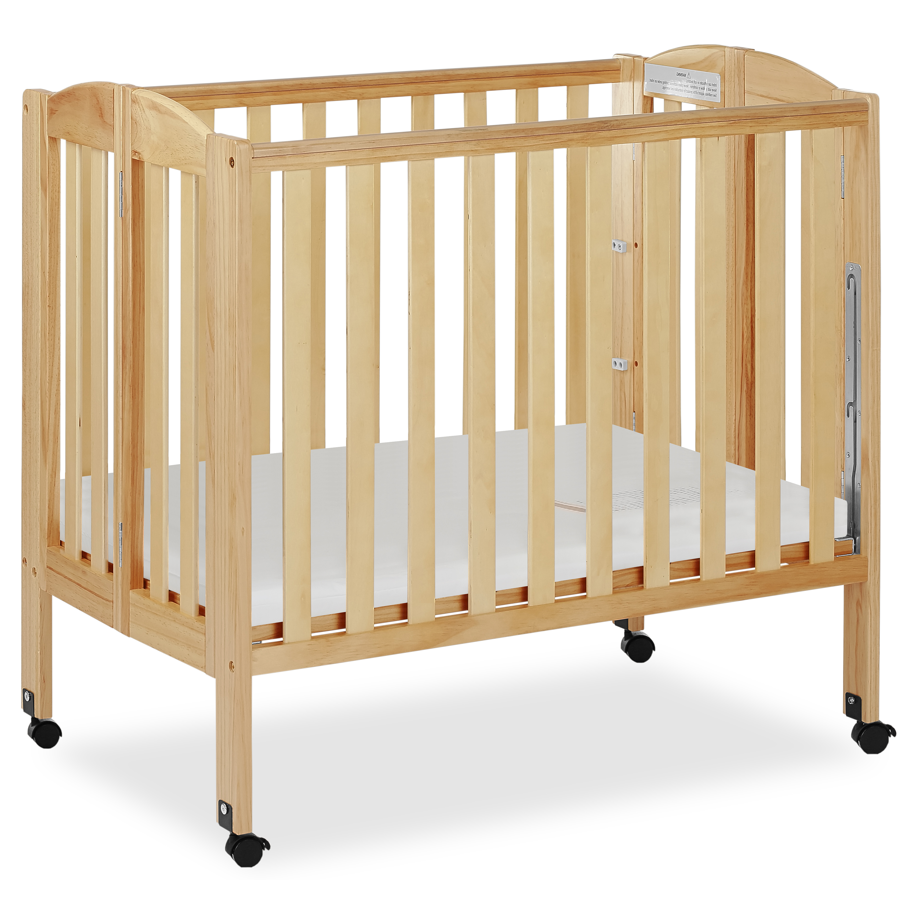 Dream On Me 3-in-1 Portable Crib Gray by Dream On Me