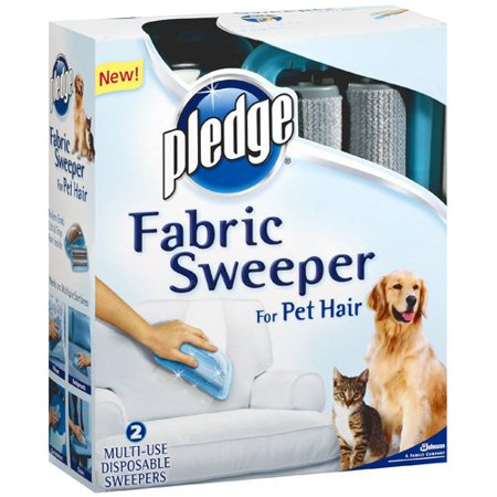 Pledge Fabric Sweeper For Pet Hair 2 Pack