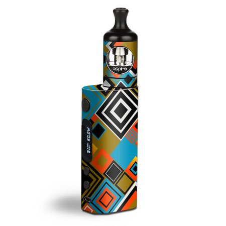 Skin Decal Vinyl Wrap for Aspire Zelos 50W starter Kit Vape stickers skins cover/ Retro Vintage Style