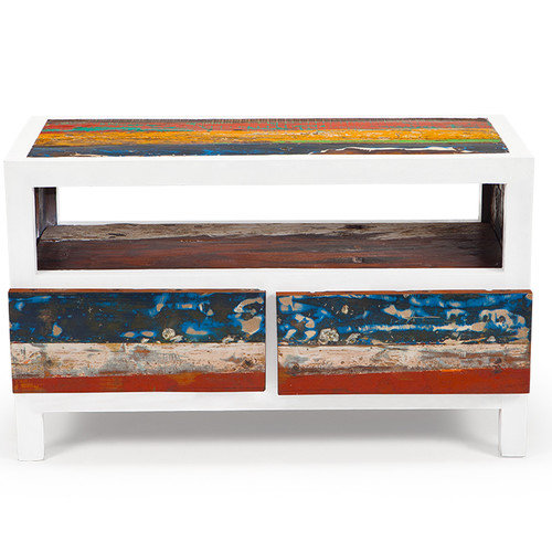 EcoChic Lifestyles Cruise Control 40'' Reclaimed Wood TV Stand