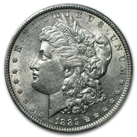 1889 Morgan Dollar AU (1878 Morgan Silver Dollar Coins)