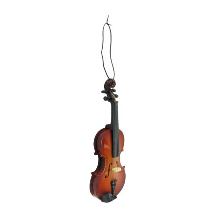 - Miniature Violin Musical Instrument Band/Music Instructor Gift Topper Ornament
