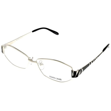 Roberto Cavalli Prescription Eyeglasses Frame Women RC 323 2A Palladium Black Zebra (Zebra Eyeglass Frames)