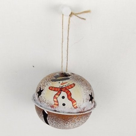 Craft Outlet Snowman Bell (Set of 6)