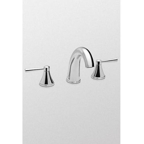 Toto Silas Widespread Bathroom Faucet with Lever Handles, Available in Various Colors