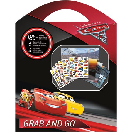 Grab and Go Stickers - Disney - Cars 3 st9145 (Disney Cars Stickers)