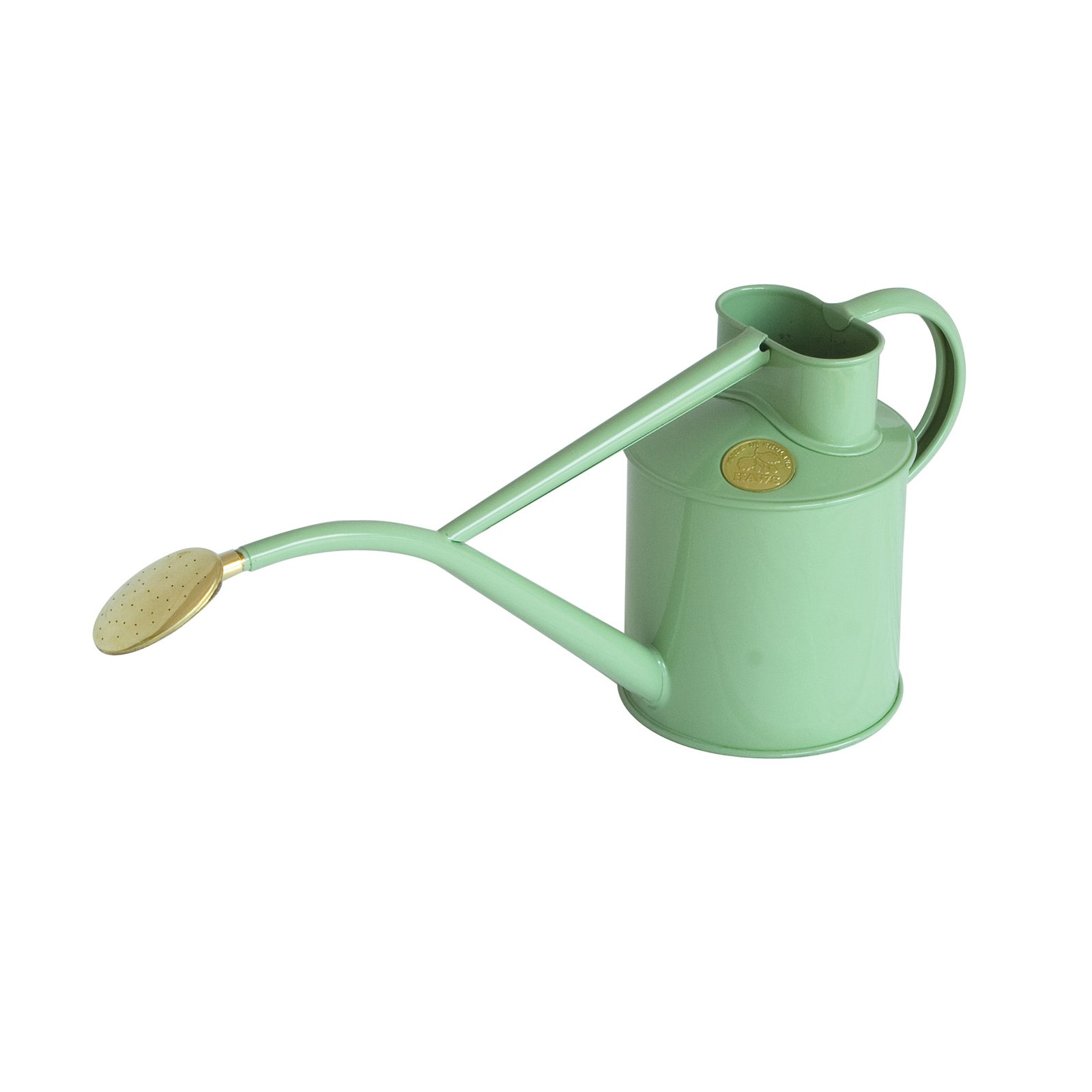 Haws 2 Pint Metal Indoor Watering Can with Rose And Gift Box by Bosmere Inc