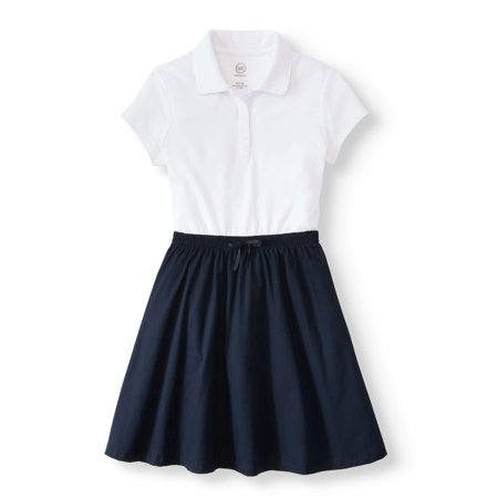 Girls School Uniform 2-fer Dress - Girl Scout Uniform Costume