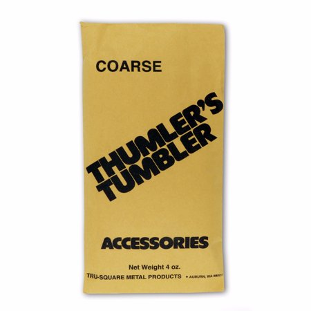 Thumlers Tumbler 4 oz of Rock Tumbling Coarse Grit for First Stage - Thumlers Tumbler Rock