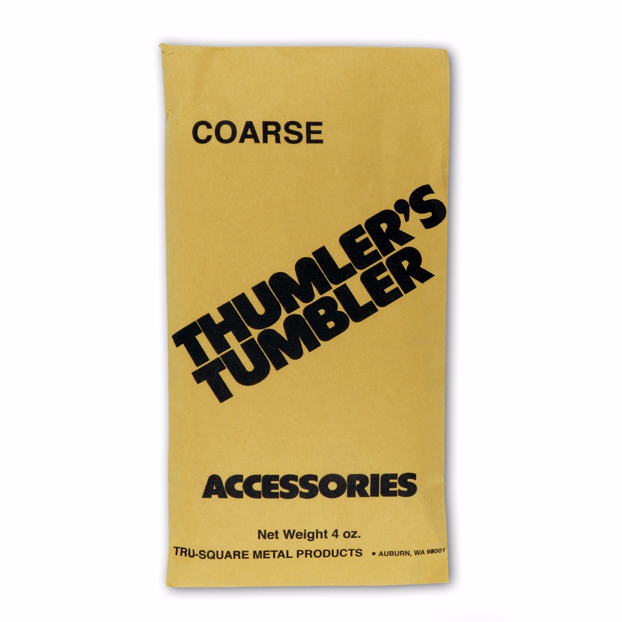 Thumlers Tumbler 4 oz of Rock Tumbling Coarse Grit for First Stage Polishing