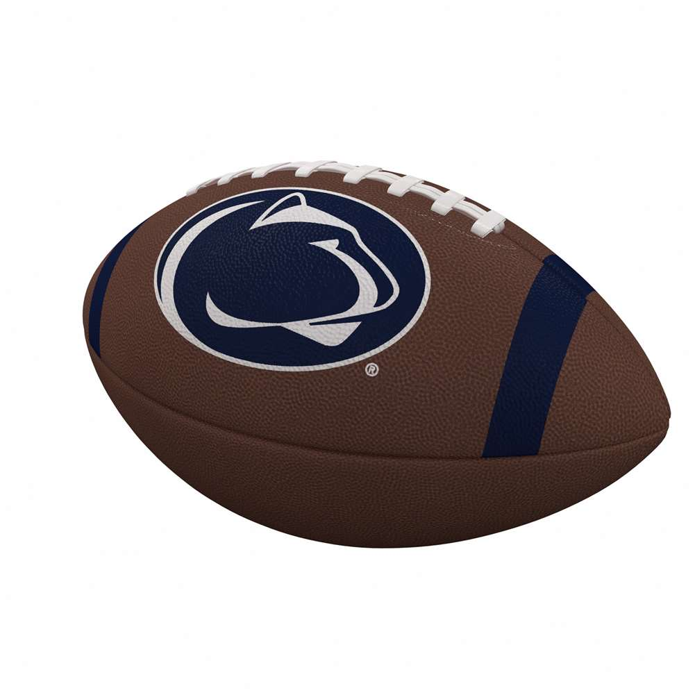 Penn State Nittany Lions Team Stripe Official-Size Composite Football