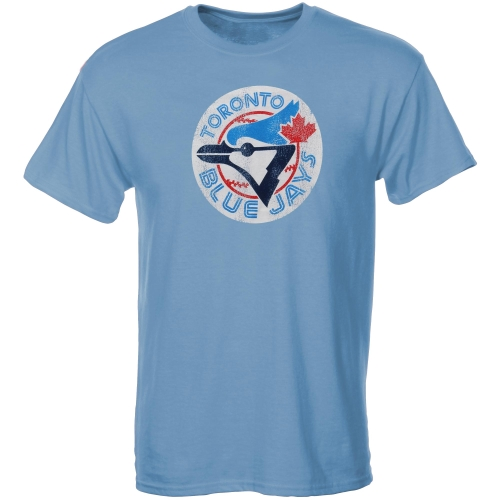 Toronto Blue Jays Youth Cooperstown T-Shirt - Light Blue