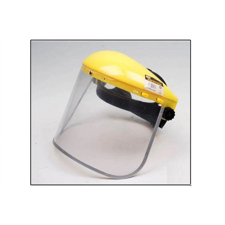 Grinding Face Shield - Clear Hard Face Shield Visor Eye Chin Face Sanding Grinding Protector Multi Use