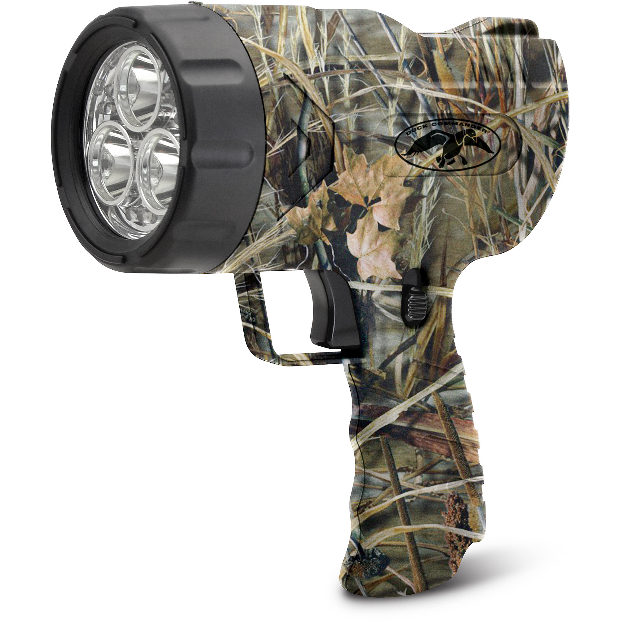 Click here to buy Duck Commander 9WS Hand Held Spotlight in Max4, Camo by Cyclops.