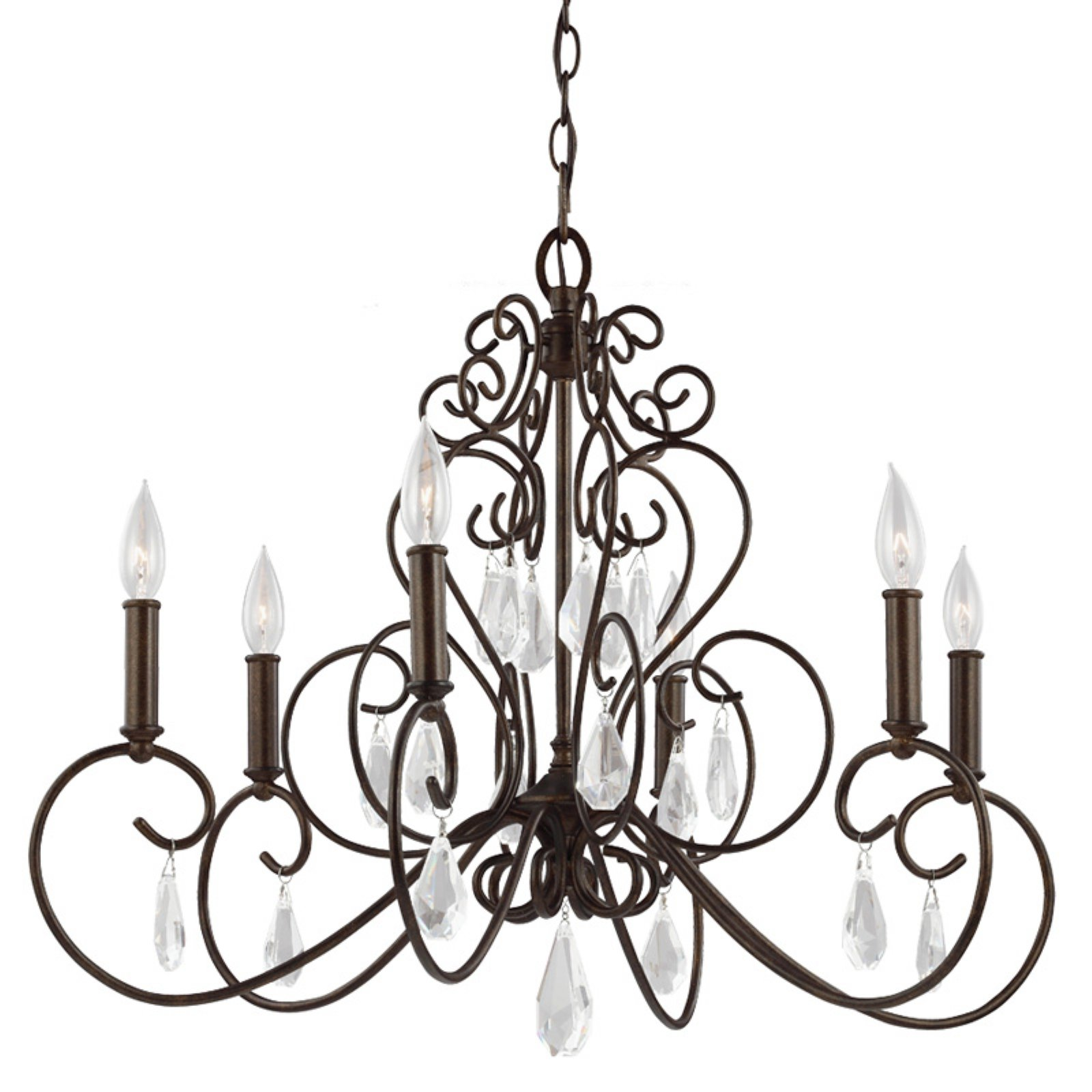 Feiss Angelette F3042 Chandelier by Murray Feiss