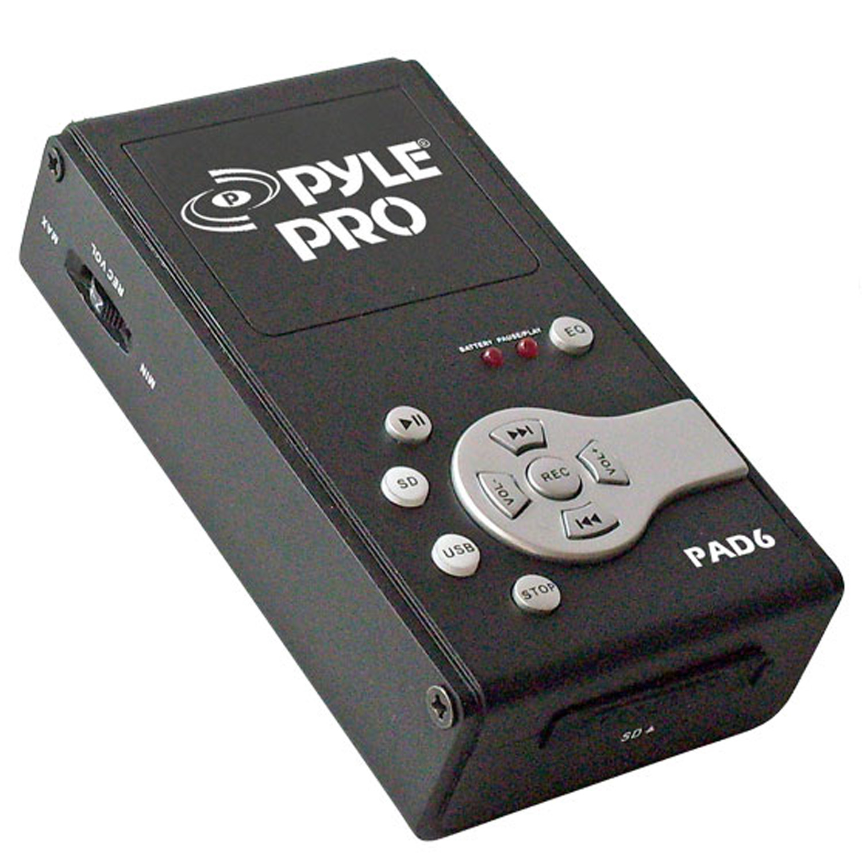 PylePro - PAD6 - USB Audio Interface & Recorder & SD Card